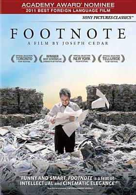 FOOTNOTE BY SCHARF,YUVAL (DVD)